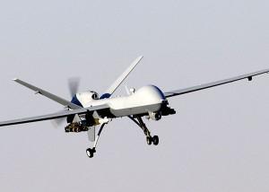 US-Drohne A MQ-9 Reaper, wie sie in Afghanistan z.Z. eingesetzt wird. (Quelle:Wikipedia)