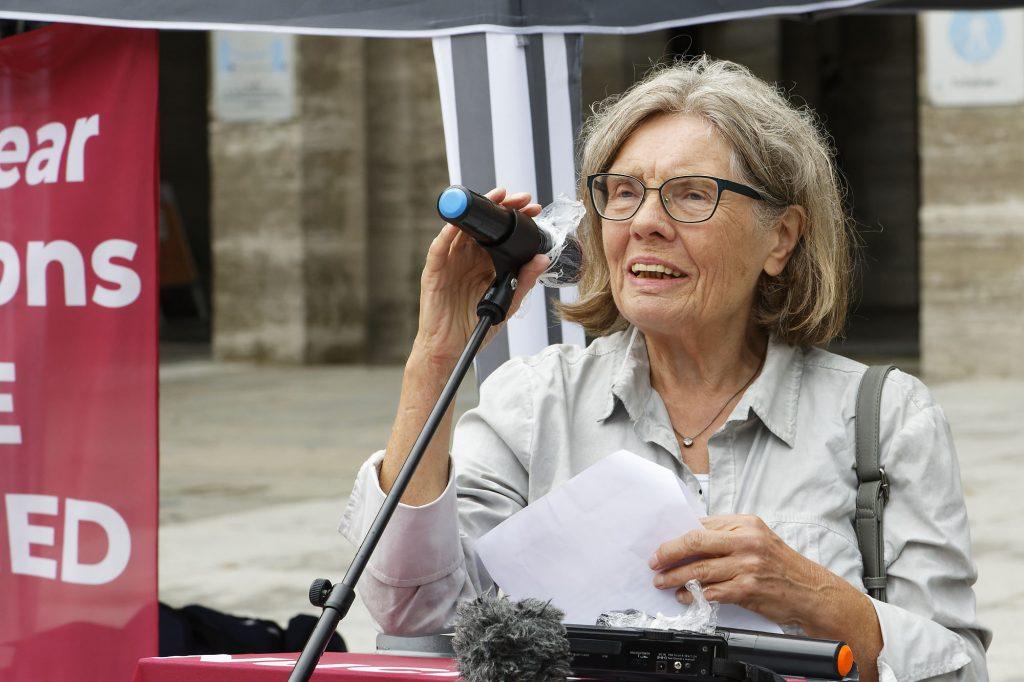 Dr. Ingrid Farzin, Bochumer Friedensplenum, IPPNW