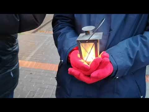Seebrücke Bochum: Wir gedenken der Toten (Mahnwache 24.11.2018)