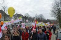 ...beteiigten sich in Bochum...