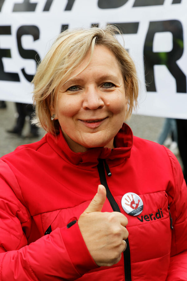 Birgit Sperner, stellv. ver.di Landesbezirksleiterin