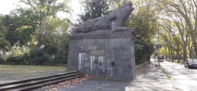 Q Anon in Bochum