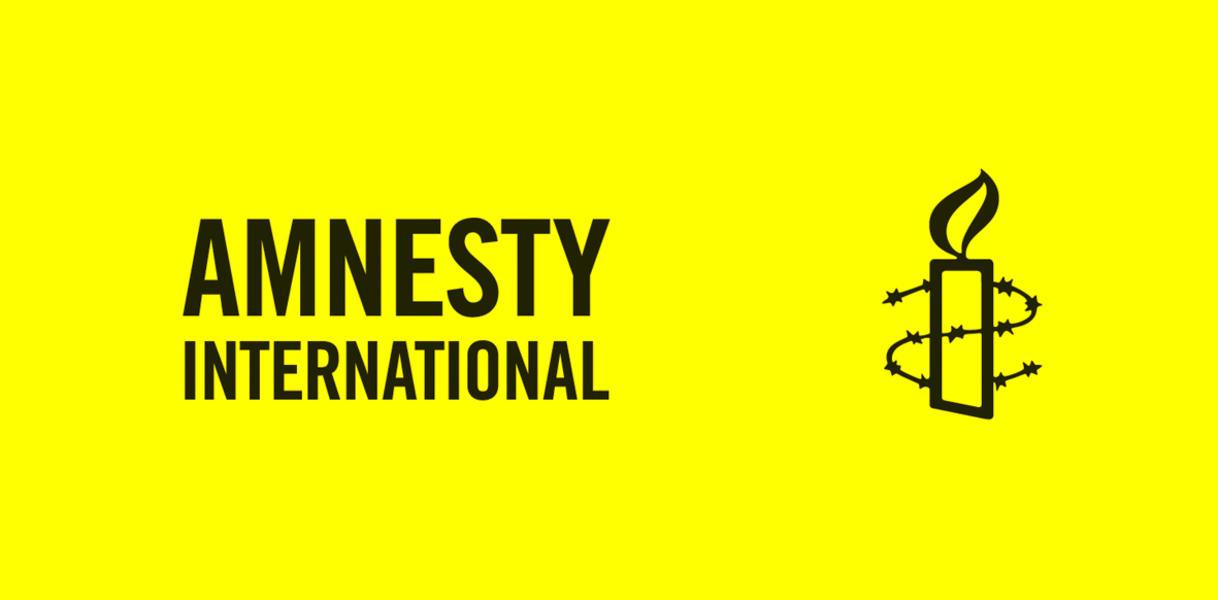 Amnesty International Logo mit Kerze